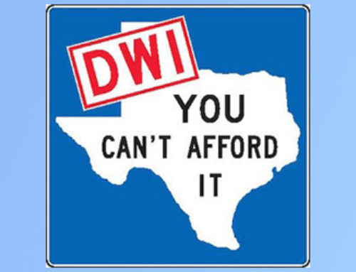 DUI/ DWI in Texas