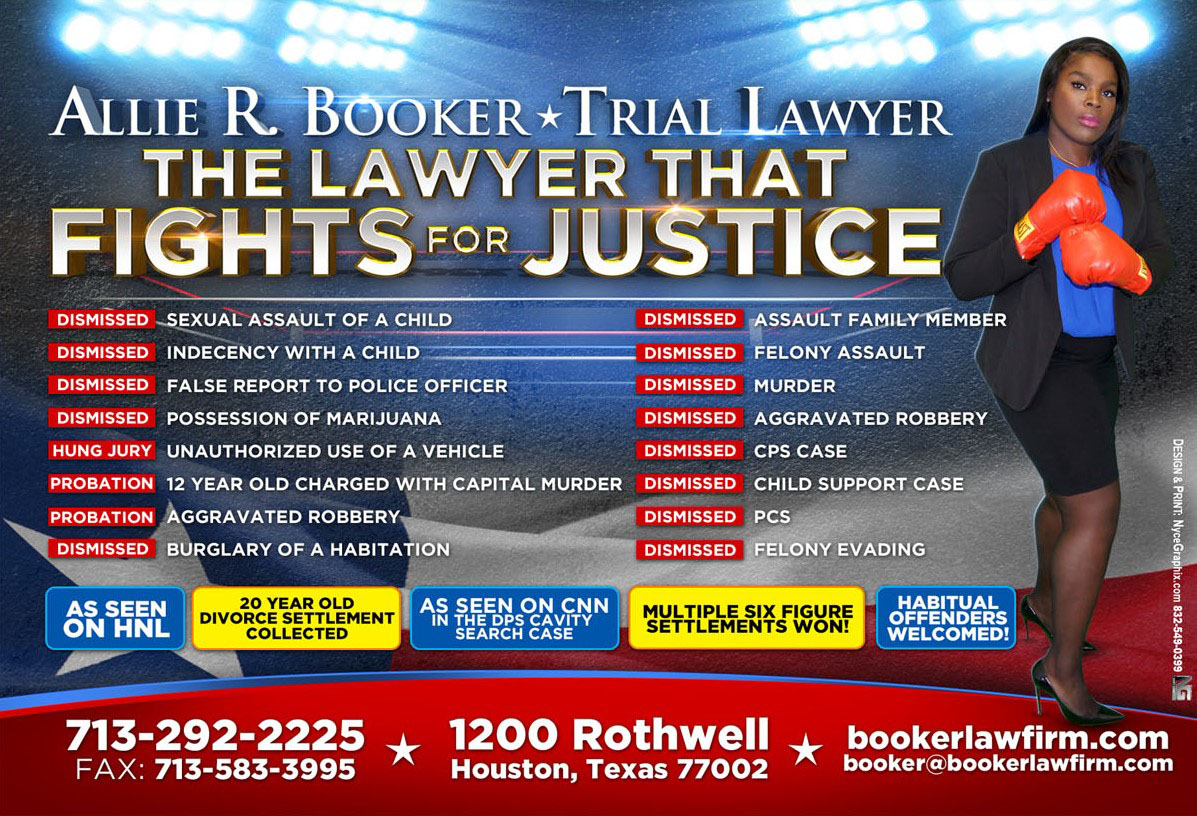 Our Firm – The Booker Law Firm | Serving Houston and the